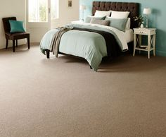 Tidal Master Bedroom Carpet #luxurycollection #superiorfeel #heavyduty Pop in to Bunnings Warehouse at Crossroads Homemaker Centre for a great range of flooring options.