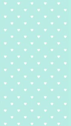 White heart-o-dots on light blue background smartphone wallpaper for Valentines day #valentinesday #love #wallpaper