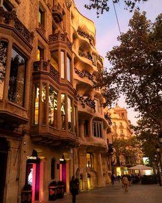 Passeig de Gràcia #Barcelona #Spain