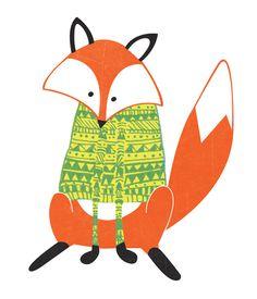 Smart fox on Behance
