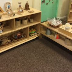 Learning to play the natural way - the benefits of natural resources - TTS Inspiration Storage Trolley, Eyfs Activities, Nursery Shelves, Ways Of Learning, Play To Learn, Natural Resources, Imaginative Play, Room Set, How To Plan