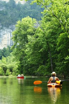 Place #21 — Buffalo River, Arkansas. Click to discover what makes this one of our favorite 50 places, and #SeeForYourself.