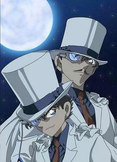 Kaito Kid and his dad