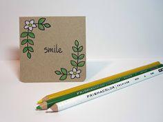 Lawn Fawn Blissful Botanicals mini card