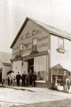 N.C. Co. General Store, Fairbanks, Alaska (taken between 1900 and 1916)