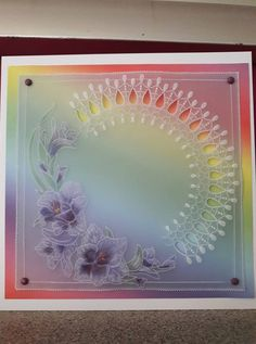 Vellum Paper, Paper Cards, Parchment Cards, Newspaper Crafts, Paper Quilling, Paint Designs, Card Making, Arts And Crafts, Creative