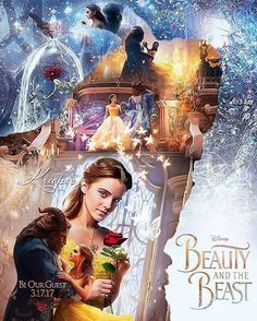 #DisneysBeauty_TheBeast (2017) - #Belle #TheBeast