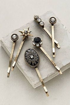 Late December New Arrival Accessories - Jewelry - Hair Accessories Hair Accessories For Women, Diy Accessories, Headband Hairstyles, Diy Hairstyles, Barrettes, Scrunchies, Hair Jewelry, Jewellery, Goth Jewelry