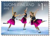 Postin verkkokauppa 1. lk:n postimerkit Muodostelmaluistelu - 1. luokan postimerkki