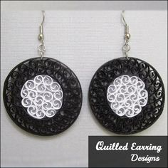 55 Beautiful Paper Quilling Earrings Design Inspiration | Lets Create Crafts
