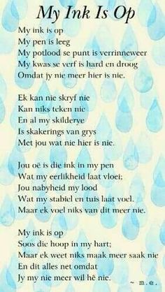My ink is op ~ Afrikaans poetry. Best Friend Quotes For Guys, Love Quotes For Boyfriend, Wise Quotes, Qoutes, Mind Thoughts, Afrikaanse Quotes, Romance And Love, Love Poems, Meaningful Words