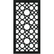 Outdoor Decorative Garden Screen Moscow Design Screening Privacy/ Block mm(H) x 600 mm(W) Panels. Weathertex - is reconstituted compre