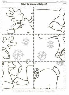 Winter-Arbeitskarte - New Ideas Preschool Christmas Crafts, Christmas Activities, Xmas Crafts, Christmas Colors, Christmas Themes, Kids Christmas, Handmade Christmas, Illumination Noel, Art Therapy Directives