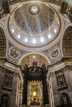 Spiragli a San Pietro.