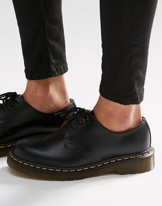 Dr Martens 1461 3-Eye Gibson Flat Shoes