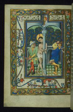 W.166, Book of Hours of Daniel Rym, Latin (1420 - 1430 CE, Flanders (Ghent?))  http://www.thedigitalwalters.org/Data/WaltersManuscripts/html/W166/