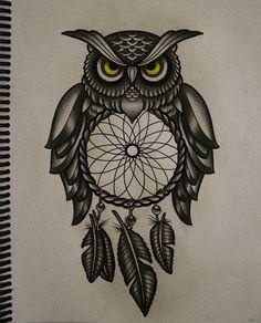 Мобильный LiveInternet Графика. Совушка-сова. Owl Zentangle Doodle.   Solaire-idee - Дневник Solaire-idee  