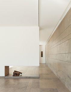 Blue limestone floor and wall   Vale da Abelha House by Duarte Pape   Dezeen   #stone #house #design #architecture