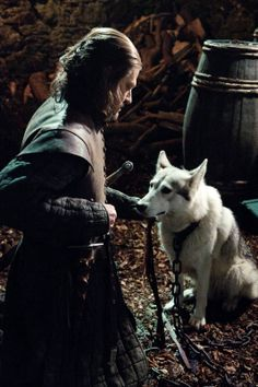 Ned Stark and Lady