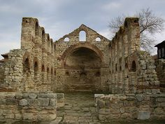Nessebar - Ancient Church Bulgaria