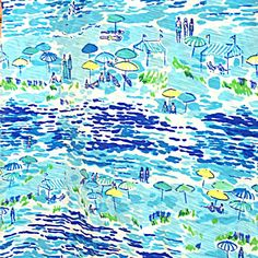 Lilly Pulitzer High Tide Toile