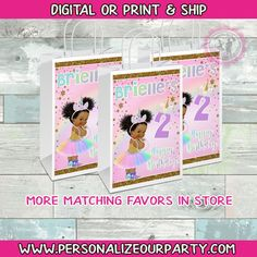 Unicorn baby girl gift bag/labels-unicorn party favors-unicorn party bags-digital-print-unicorn treat bags-unicorn gift bag-unicorn supplies by PersonalizeOurParty on Etsy Unicorn Party Bags, Unicorn Gifts, Custom Gift Bags, Customized Gifts, Mermaid Party Favors, Brochure Paper, Digital Print, Craft Bags, Printing Labels