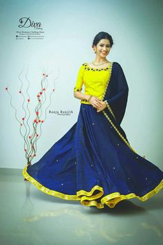 Half Saree Lehenga, Lehenga Gown, Lehenga Blouse, Anarkali Suits, Long Skirt Top Designs, Long Skirt And Top, Gown Party Wear, Party Wear Indian Dresses, Indian Outfits