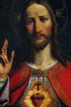 (via Melanie Jean Juneau) Sacred Heart of Jesus