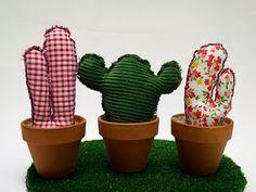 Fabric cactus inspiration by Kuska