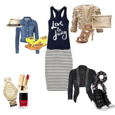 One outfit x 3 ways, created by abonney on Polyvore