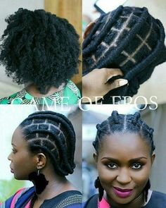 Ladies is taking our African threading aka the olori hairstyle to the next level. Am loving this style. If you are in Lagos or leave close to Lagos start booking your appointments and you can go ahead and check out her page Updo Cabello Natural, Natural Hair Braids, Braids For Black Hair, Natural Hair Care, Natural Hair Styles, Natural Afro Hairstyles, Box Braids Hairstyles, African Hairstyles, Black Girls Hairstyles
