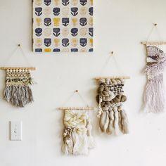 ざっくり作って、スタイリッシュ。SNSで話題の新感覚手織物。|手織りで彩る壁面インテリア ウィービングタペストリーレッスンの会