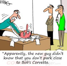 Saturday Morning Corvette Comic: Justifying Workplace Violence