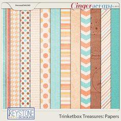Trinketbox Treasures: Papers