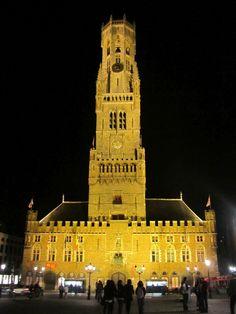 Bell Tower Bruges Belgium