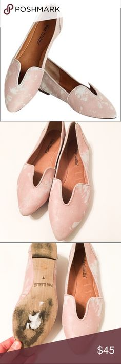 Anthropologie Gee WaWa Pink Lydia Flats These are gently used Anthropologie Gee WeWe Lydia flats in pink. Minimal signs of wear on leather upper and soles. Excellent overall. A vintage-inspired, pointy-toe flat provides an effortless, refined finish for your look. Leather or genuine calf hair upper/leather lining/rubber sole. By Gee WaWa; imported. BP. Shoes. Anthropologie Shoes Flats & Loafers
