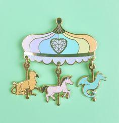 Pastel Carousel Pin