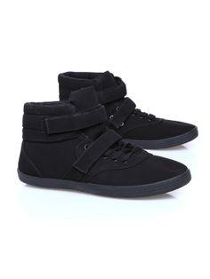 Buty damskie czarne  - TBU0156 buty - TROLL - Odzieżowy sklep internetowy TOP SECRET