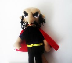 Stromboli Talking  Puppet from Pinocchio by Meoneil on Etsy, $60.00
