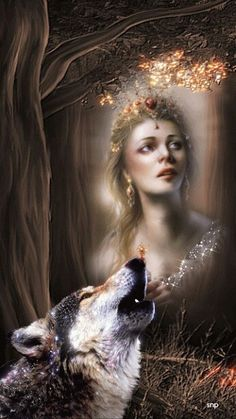 Call of the wolf Wolf Spirit, Spirit Animal, Wolf Hybrid, Wolves And Women, Names Of Artists, Wolf Love, Wolf Pictures, Beautiful Fantasy Art, Montage Photo