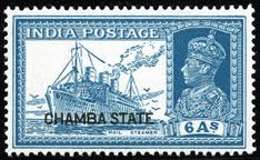 King George VI Postage Stamps: Chamba 1938 Sri Lanka, Jaipur Inde, Increase Knowledge, Us Postal Service, Vintage Stamps, King George, Stamp Collecting, Maldives, Art Drawings