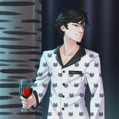 In the game, Mystic Messenger, there's a spaceship that you cli. Jumin Han Mystic Messenger, Cinnamon Rolls, Cats, Video Games, Daddy, Messages, Image, Ideas, Anime Guys
