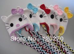 Free Crochet kitten Coaster Patterns Online | ... Crochet Kitty Hats by Comparing Price from China Online Crochet Kitty