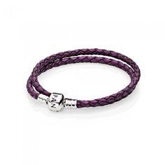 Silvertone Alamo Purple Charm Beads Set of 3