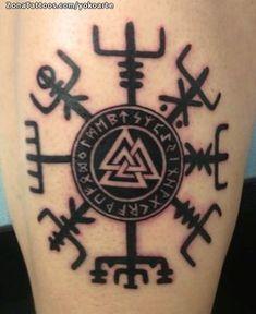 Tatuaje de yokoarte Vegvisir, Celtas, Símbolos En ZonaTattoos, tu web de tatuajes