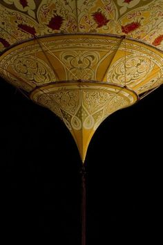 Fortuny Silk Pendant Light