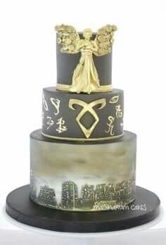 Would be wonderful for a shadowhunter themed wedding or birthday.