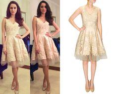 Shraddha Kapoor in Varun Bahl #perniaspopupshop #shopnow #celebritycloset #designer #clothing #accessories