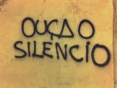 Diário de uma Sobrevivente...: Ah, o silêncio...