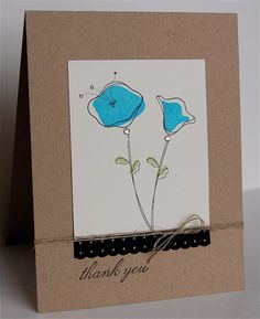 Thank you note 2 by mamamostamps - Cards and Paper Crafts at Splitcoaststampers